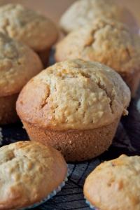 Mini and maxi muffins