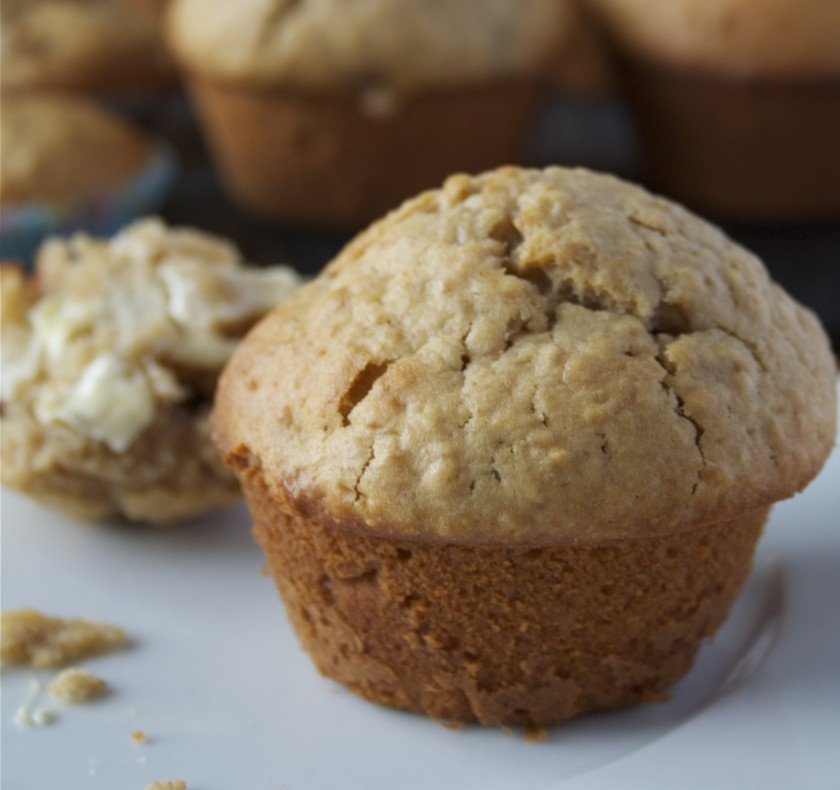 Honey-Oat Muffins