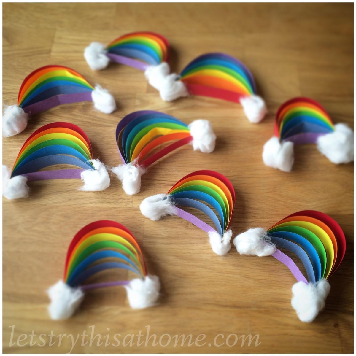 Paper Rainbow Craft