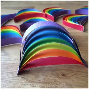 Basic paper rainbow