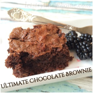 Ultimate Chocolate Brownies